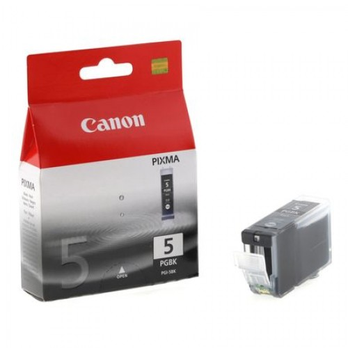 Cartus Cerneala Canon PGI-5Bk, Original, Negru
