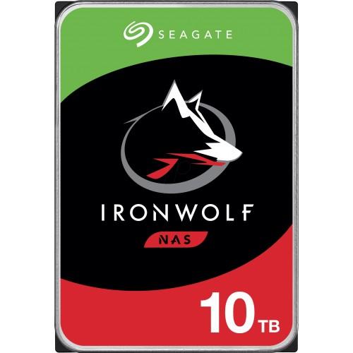 Hard Disk desktop Seagate IronWolf NAS 10TB, 7200rpm, 256MB, SATA3, ST10000VN0008