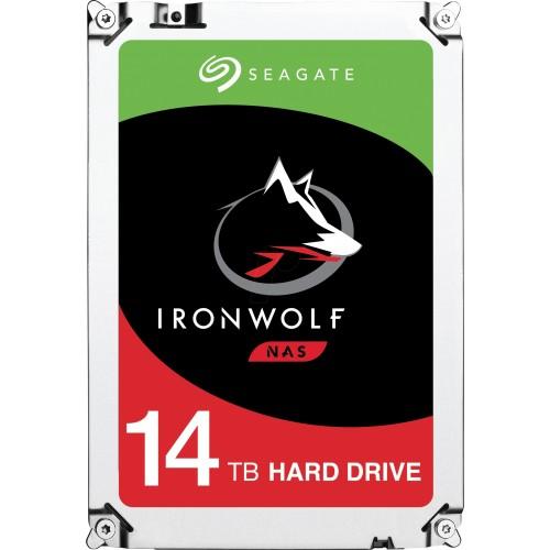 Hard Disk desktop Seagate IronWolf NAS, 14TB, 7200rpm, 256MB, SATA3, ST14000VN0008