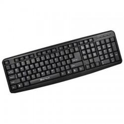 Tastatura Serioux SRXK-9400PS, PS/2, Negru